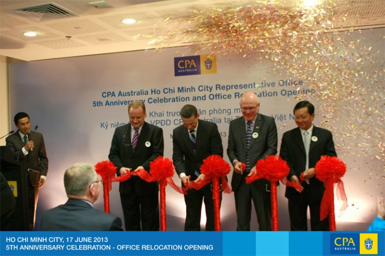 MC at CPA Australia